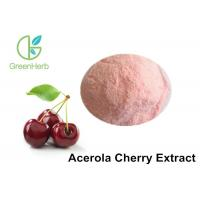 Light Red Natural Fruit Powder / Pure Acerola Cherry Extract Powder With 17% 25% VC Manufactures