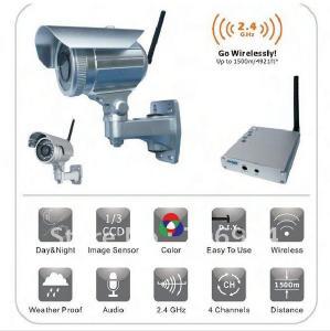 China waterproof/ weatherproof 1500M HD wireless outdoor long range home security camera on sale