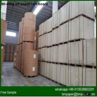 Quality High brightness 200g 250g 300g 350g Art card paper in China for sale