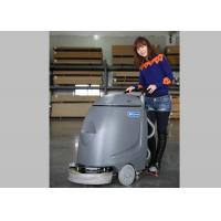 Orange Dycon Mini Cable Floor Scrubber Dryer Machine With AC Power Manufactures