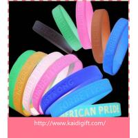 Quality Promotional Fashion Carved Thin Rubber Bracelet Silicone Wristband Party Favors for sale