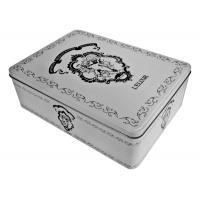 French Biscuit  Cupcake Donuts Rectangular Tin box Manufactures