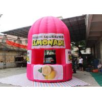 Purple Red Advertising Inflatable Tent 4 M Tall Lemonade Store For Event Manufactures
