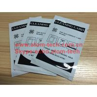 ATM Machine ATM spare parts ATM Encoded Cleaning Card Manufactures