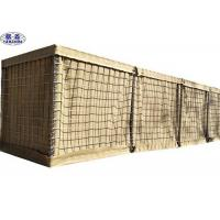 Multi Cellular Defensive Bastion Barriers Mesh Gabion Box Wall 4-5.0mm Wire Dia Manufactures