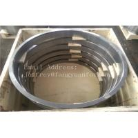 10CrMo9-10 1.7380 DIN 17243 Alloy Steel Forged Rings Quenced And Tempered Heat Treatment  Proof Machined Manufactures