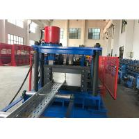 China C Style Cable Tray Roll Forming Machine / Industry Cable Tray Making Machine on sale
