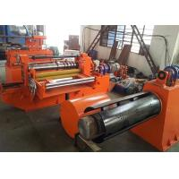 High Speed Metal Slitting Line / Colored Steel Sheet Metal Slitter Machine Manufactures