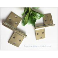 2 Pieces 3 Holes Stainless Lift Off Hinges Emovable Wide Application  Strong Inner Box Manufactures