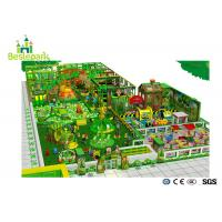 Buy cheap Big Slide Kids Jungle Theme Playground High Durability Security With EVA Mat from wholesalers