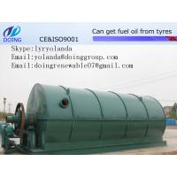 Used Tyre Processing Machine to Get Fuel Oil, Carbon Black, and Steel Manufactures