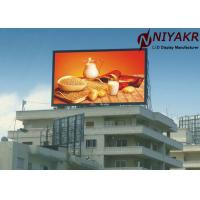 China P10 P8 P6 Outdoor Full Color LED Display Advertising Outdoor Video Wall on sale