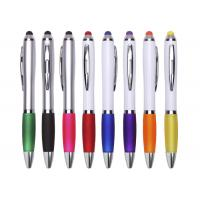 Stylus Plastic Ball Pen With Screen Touch Function And Fashion Design Manufactures