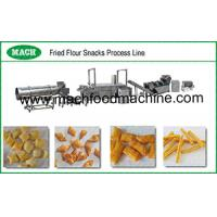 Fried wheat flour snacks food machinery from Jinan MACH Food Machine Manufactures