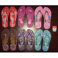 Beautiful and colorful white dove PE slippers/sandals+toe ring white dove beach slippers 6 Manufactures