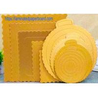Food Grade Cake Board With Aluminium Foil For Food Packaging Manufactures
