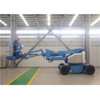 Quiet Electric Articulating Boom Lift Emission Free Bi Energy System Lightweight Manufactures