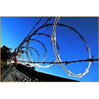 BTO-10 BTO-12 Stainless Steel Concertina Razor Wire Corrosion Resistance Manufactures