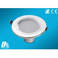 3 Lathe Aluminum 5W 3000K Recessed Led Downlights with silver housing Manufactures