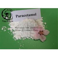 Paracetamol Cas 103-90-2 Raw Material Drug White Powder Or Superfime Crystal Manufactures