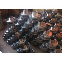 Round Shape Stainless Steel Flange Raised Face Type High Toughness ASTM Standard for sale