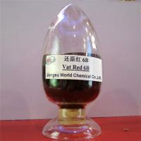 High fastness environment friendly Indanthrene Dye C I Vat red 13 Vat red 6B dyes Manufactures