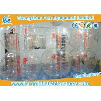 Popular Giant Hamster Inflatable Zorb Ball Soccer Customized With Air Pump