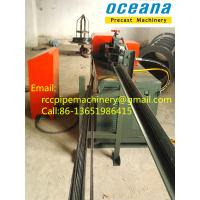 Hydraulic 4-14mm Wire Straightening and Cutting Machine for concrete pipe Manufactures