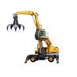 Electic Fuel Power Material Handling Wheeled Crane WLYS35 Grab Crane Manufactures