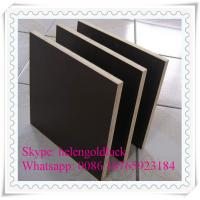 Concrete Formwork Plywood with WBP Phenolic Glue Manufactures