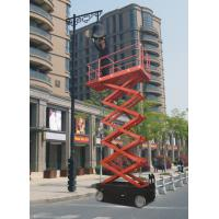 China Small Scissor Lift Work Table With Electro - Hydraulic Proportion Control on sale