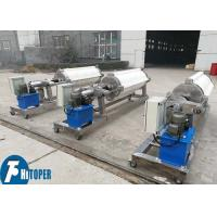 Automatic Hydraulic Round Plate Filter Press In Clay / Kaolin Industry Manufactures