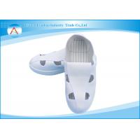Unique white light Operating Room Footwear / Nurse Medical Shoes Comfortable Manufactures