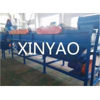 China PET Bottles Automatic Waste Plastic Recycling Line 500kg/hr With Crusher on sale