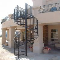 China Marretti steel outdoor steps galvanized spiral staircase kit on sale