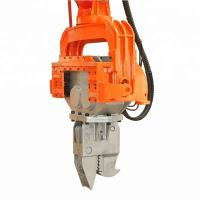 Excavator Vibro Powerful Hydraulic Pile Hammer Machine With Long Durability Manufactures