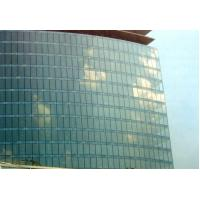 4 + 0.76 + 4mm blue, dark grey reflective clear laminated safety glass for long corridor Manufactures