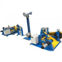 Iron Aluminum Wire Spool Winding Machine Industrial Cable Line Straightener cable manufacturing equipment Manufactures