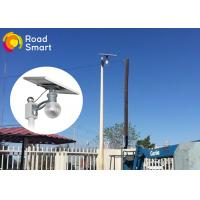 160lm/W Integrated Solar Powered Parking Lot Lights 3000K-6500K CCT Manufactures