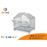 Durable Zinc Plated Wire Mesh Storage Containers With Lid Security Mesh Box Manufactures