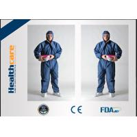 Flame Retardant Disposable Protective Coveralls For Asbestos Removal Anti Static Manufactures