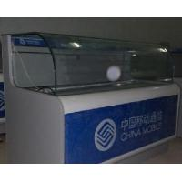 China Curved Glass Display Counter on sale