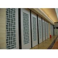 Interior Suspended Sliding Glass Folding Partition 4 Standard / Parking Track Systems Manufactures