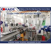 Oxygen Barrier Plastic Pipe Making Machine Production Multilayer Composite Pipes Manufactures