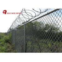 Hot Dipped Galvanized 6 Foot Chain Link Fence Cyclone Wire For Rural Fencing Manufactures