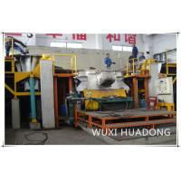 China Semi Automatic Vertical Continuous Casting Machine 2 Strand For Red Copper Round Billets on sale