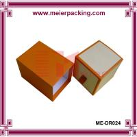 Pull out drawer styled watch box with customized logo printing ME-DR024 Manufactures