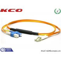 Mode Conditionning Fiber Optic Patch Cord / Mpde Conditional Patch cable / Single mode to Multimode Patch Cord Manufactures