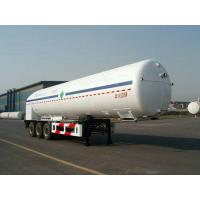 33000L-3 Axles-Cryogenic Liquid Lorry Tanker for Liquid Nitrogen Manufactures