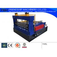 Simple Roof Panel Roll Forming Machine Steel Slitting Lines Width 1000mm Manufactures